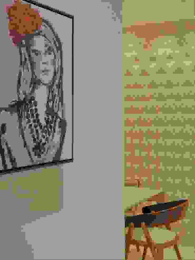Izabella Biancardine Interiores Pasillos, vestíbulos y escaleras modernos