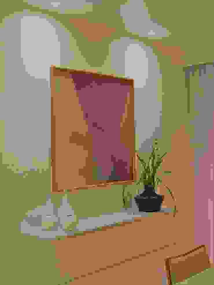 Leveza Izabella Biancardine Interiores Salas de jantar modernas