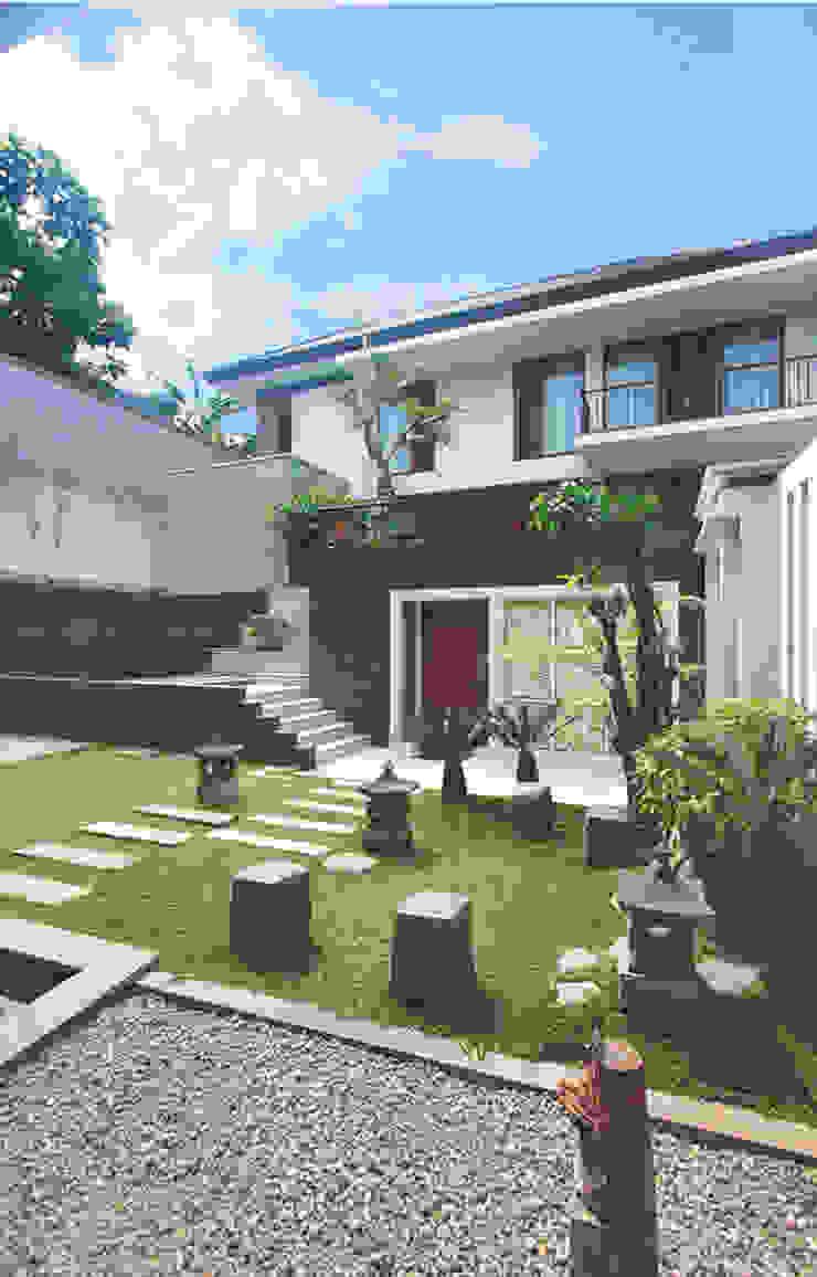 Sukamulya House - Bandung Oleh CV Berkat Estetika Tropis Kayu Wood effect