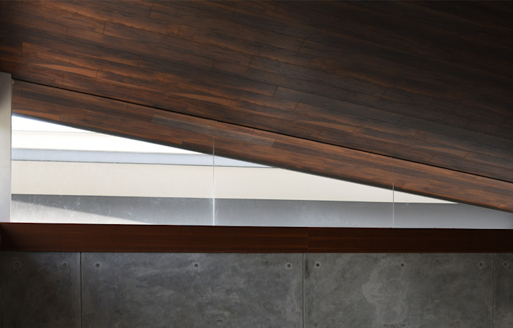 Q-House Pintu & Jendela Tropis Oleh CV Berkat Estetika Tropis Kayu Wood effect