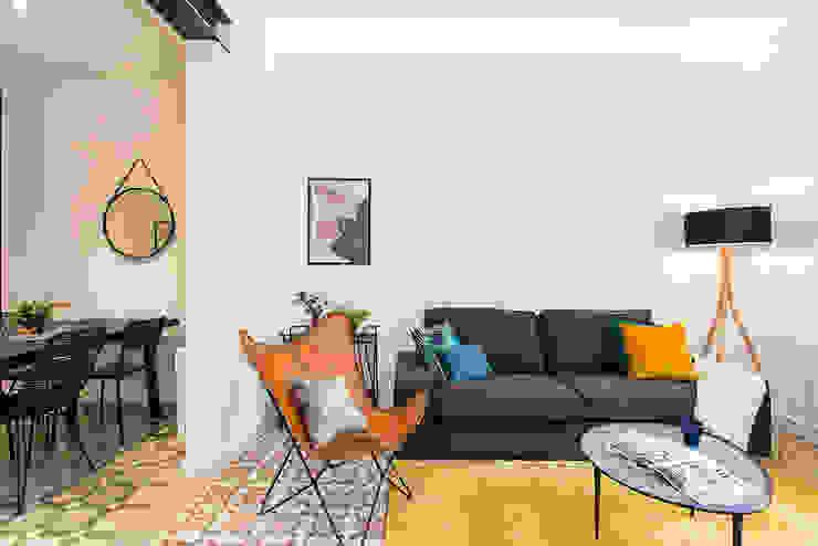 Piso en Barcelona: Salones de estilo  de La Casa Marta,