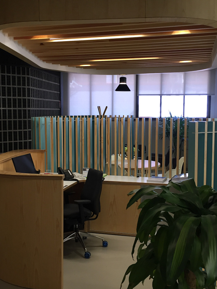 by Dasepa Construcciones y reformas en Madrid Industrial Wood Wood effect