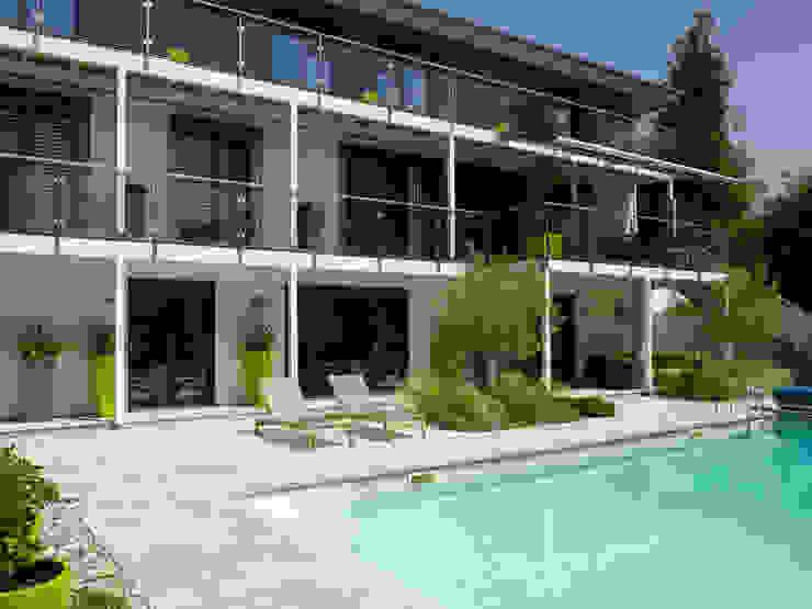 Baufritz House Bond Baufritz (UK) Ltd. Pool Granite Grey