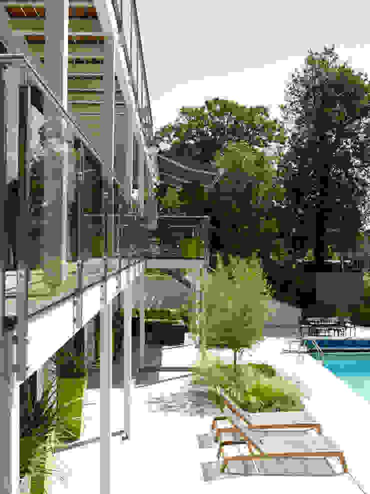 Baufritz House Bond Baufritz (UK) Ltd. Pool Natural Fibre Wood effect