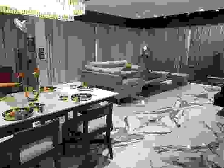 Dining area:  Dining room by Obaku Design,
