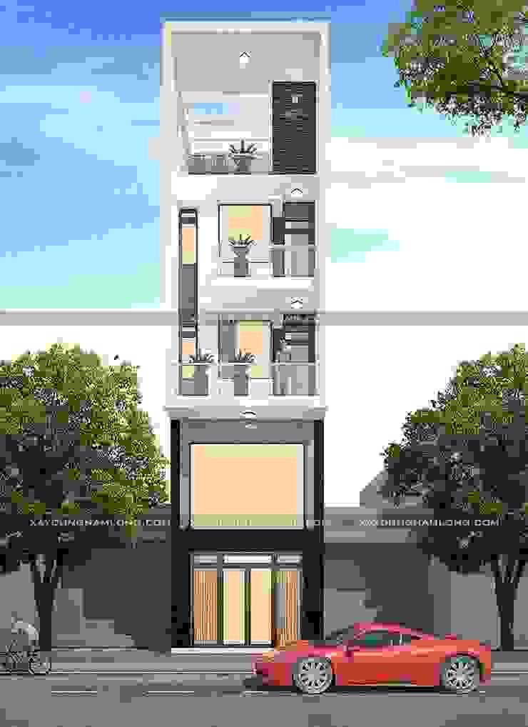 Thiết kế nhà rộng 5m dài 15m bởi Công ty xây dựng nhà đẹp mới