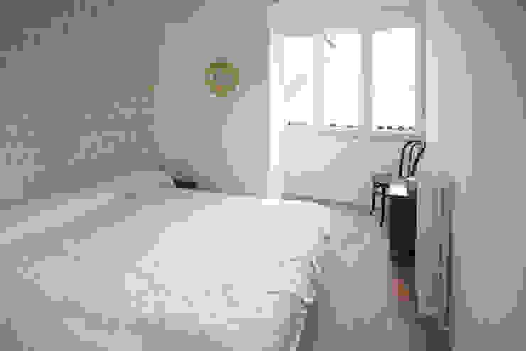 Después- Reforma integral de vivienda en Palencia - Dormitorio:  de estilo  de Pin Estudio - Arquitectura y Diseño en Palencia