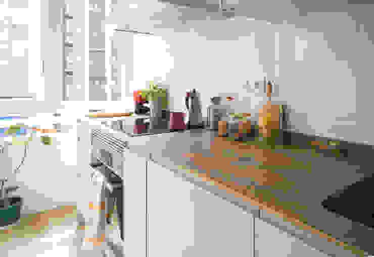 Después - Reforma integral de vivienda - Cocina:  de estilo  de Pin Estudio - Arquitectura y Diseño en Palencia