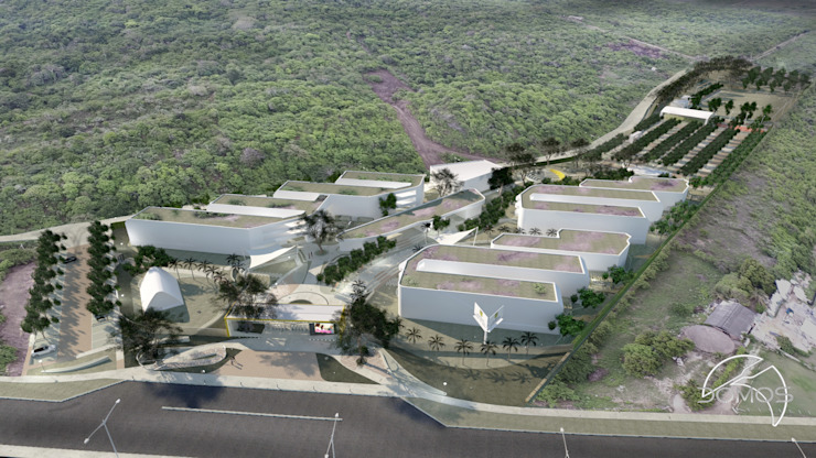 Modern schools by DOMOS ARQUITECTURA S.A.S Modern