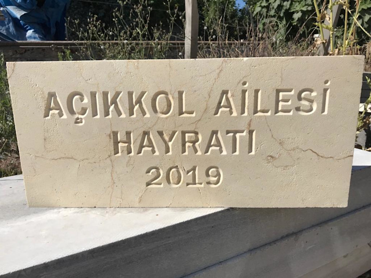 par Taşcenter Acarlıoğlu Doğal Taş Dekorasyon Moderne Calcaire