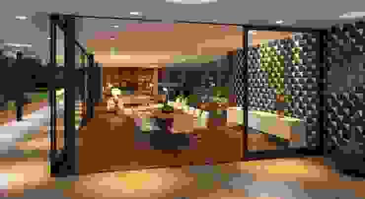 Casa do Lago Cozinhas campestres por Viviane Cunha Arquitetura Campestre