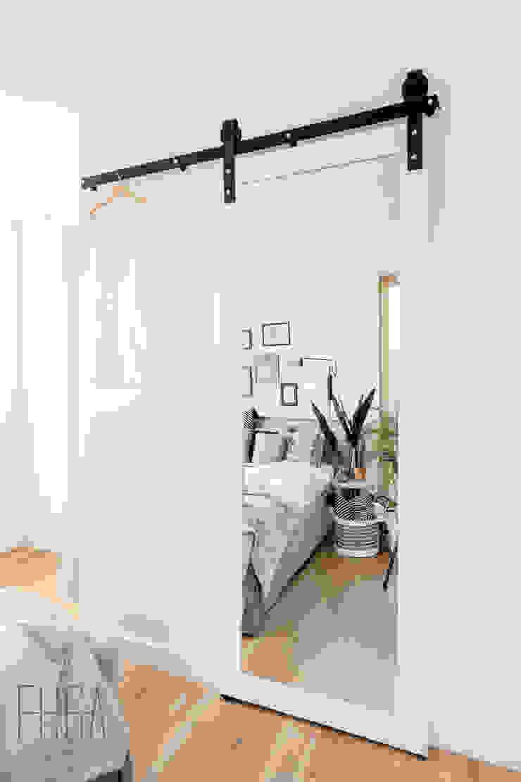 Fuga Architektura Wnętrz Camera da letto minimalista