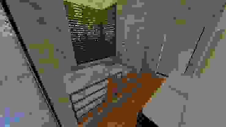 Propuesta básica, baño de la habitación principal de Arquitecto Gustavo Moreno