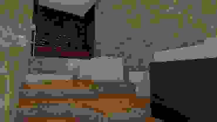 Propuesta básica, baño para las habitaciones secundarías. de Arquitecto Gustavo Moreno