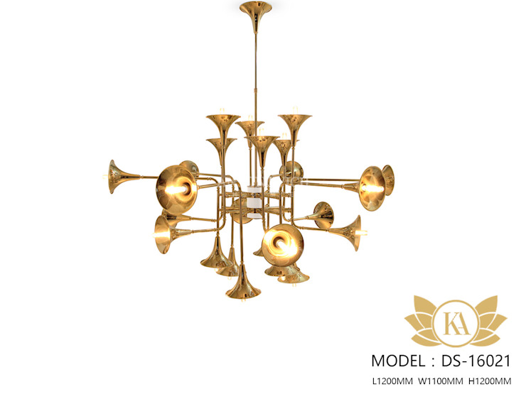 Outstanding Creative Lighting in Interior by Luxury Antonovich Design