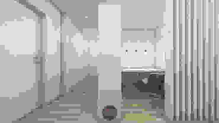 Modern Study Room and Home Office by arcq.o | rui costa & simão ferreira arquitectos, Lda. Modern