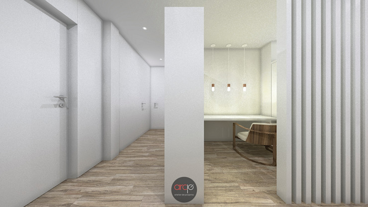 Estudios y despachos de estilo moderno de arcq.o | rui costa & simão ferreira arquitectos, Lda. Moderno