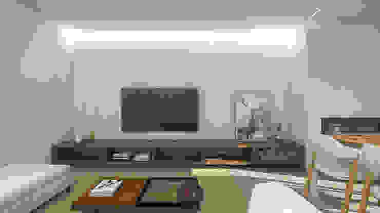 Salas modernas de arcq.o | rui costa & simão ferreira arquitectos, Lda. Moderno