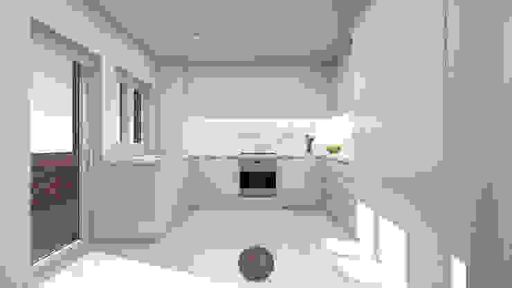 Modern Kitchen by arcq.o | rui costa & simão ferreira arquitectos, Lda. Modern