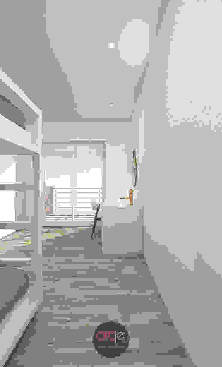 Modern Kid's Room by arcq.o | rui costa & simão ferreira arquitectos, Lda. Modern
