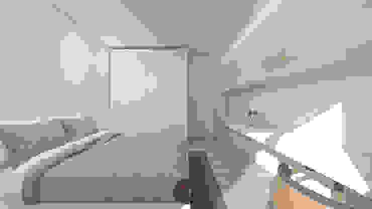 Habitaciones modernas de arcq.o | rui costa & simão ferreira arquitectos, Lda. Moderno