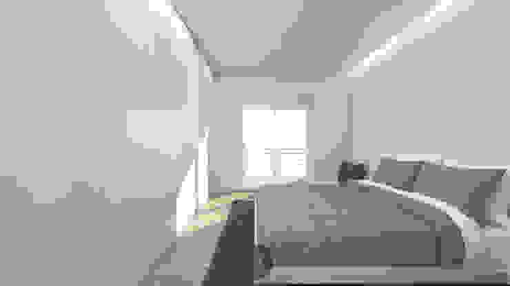 Modern Bedroom by arcq.o | rui costa & simão ferreira arquitectos, Lda. Modern