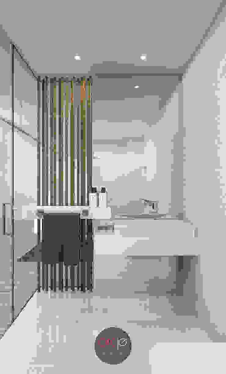 Baños de estilo moderno de arcq.o | rui costa & simão ferreira arquitectos, Lda. Moderno