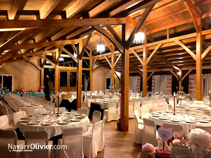 Event Venue Klasik Oleh NavarrOlivier Klasik Kayu Wood effect