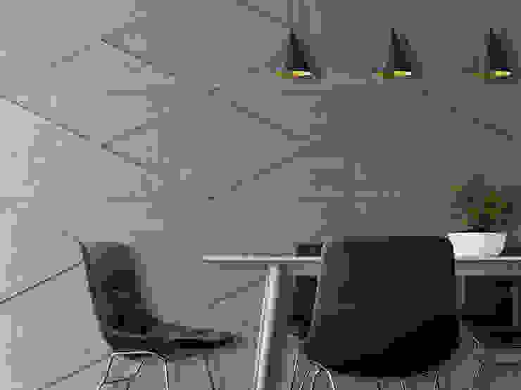 Loft Design System Deutschland - Wandpaneele aus Bayern Industrial style dining room Concrete Grey