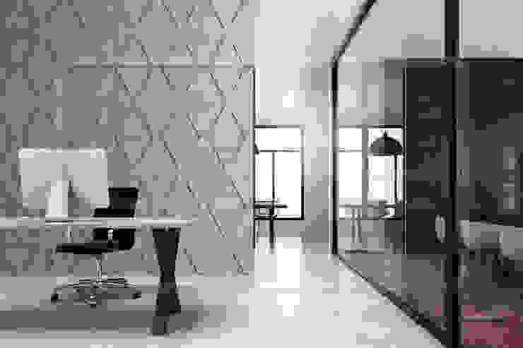 Loft Design System Deutschland - Wandpaneele aus Bayern Industrial style study/office Concrete Grey