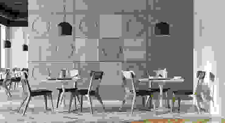 Loft Design System Deutschland - Wandpaneele aus Bayern Office spaces & stores Concrete Grey