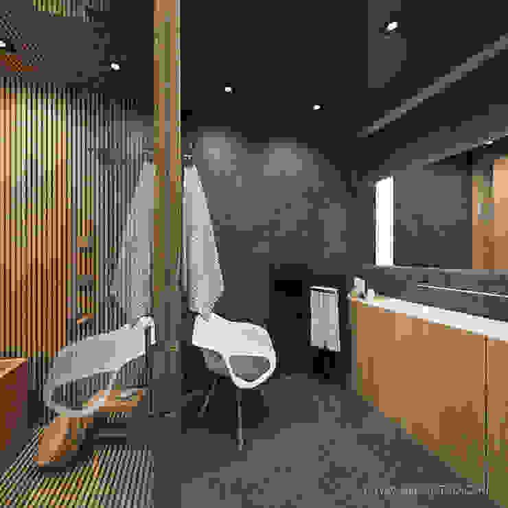 MIRAI STUDIO 浴室 石器 Black