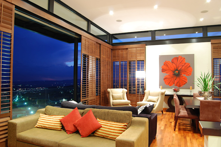 Hillside Haven—Loft House Bassonia Modern living room by CKW Lifestyle Associates PTY Ltd Modern