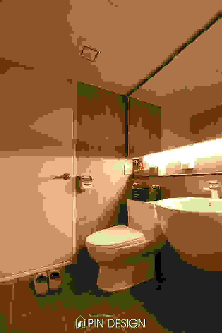 바이올렛의 우아함과 클래식한 가구들의 조합-우장산힐스테이트39평 클래식스타일 욕실 by 핀디자인(PIN:D) 클래식