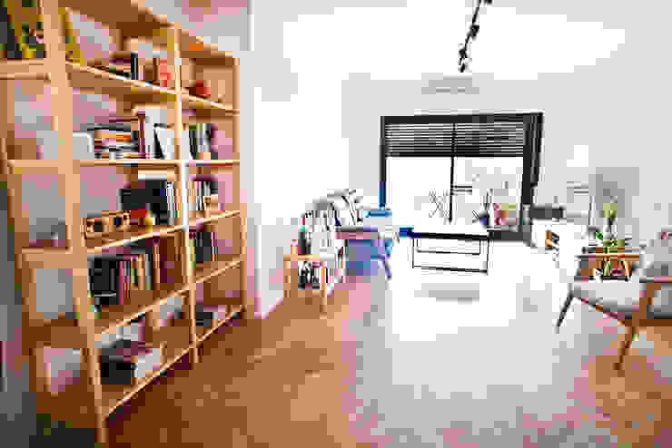 Reforma de un departamento: Livings de estilo  por Ba75 Atelier de Arquitectura,Clásico