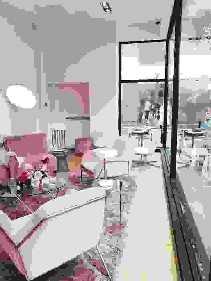 Moderne Geschäftsräume & Stores von DelightFULL Modern Kupfer/Bronze/Messing