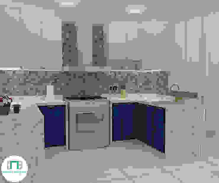 Diseño de Cocina – Espacios pequeños de NCB Arquitectura de interiores Ecléctico