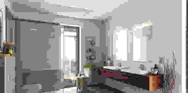 Modern Bathroom by Heat Art - infrarood verwarming Modern Glass