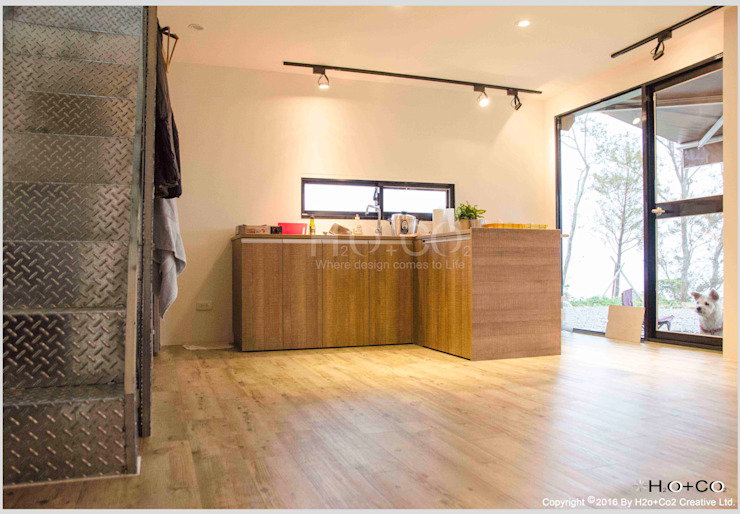 貨櫃屋渡假別墅 根據 光合作用設計有限公司 現代風