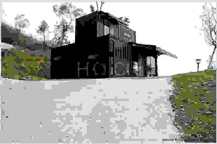 貨櫃屋渡假別墅 現代房屋設計點子、靈感 & 圖片 根據 光合作用設計有限公司 現代風
