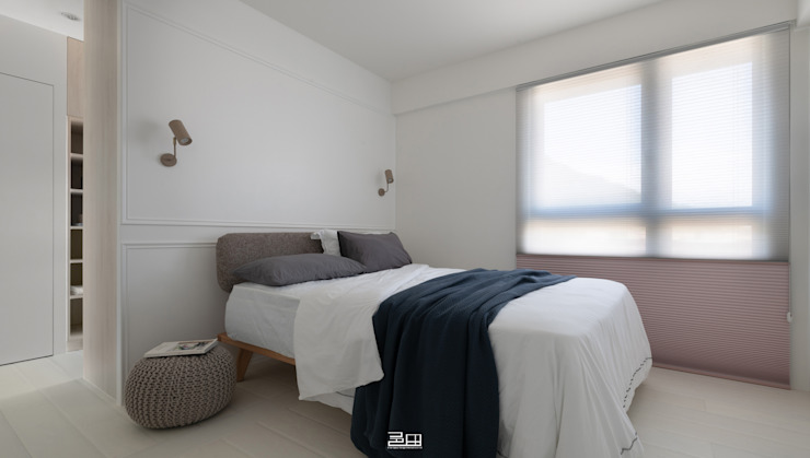 主臥室 Minimalist bedroom by 邑田空間設計 Minimalist