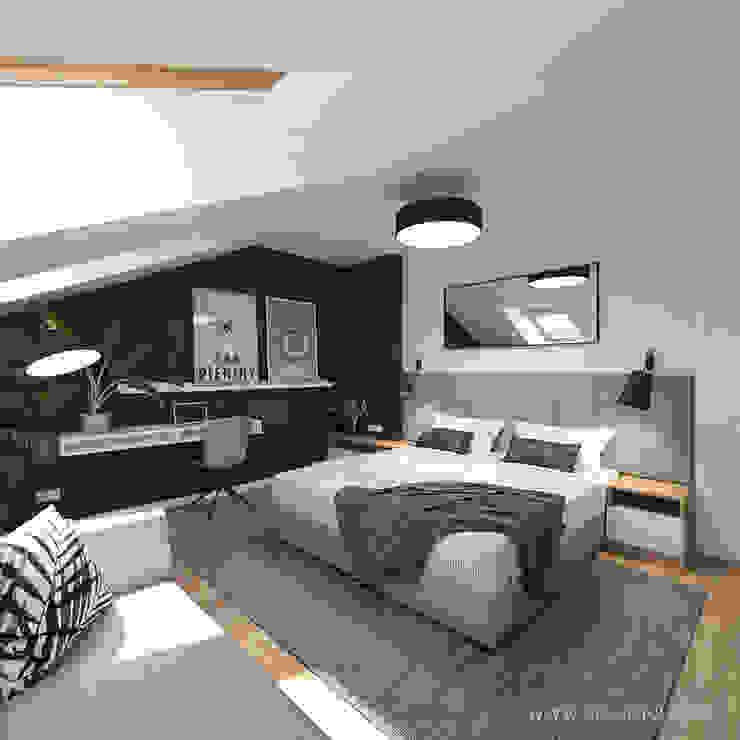 MIRAI STUDIO Modern style bedroom