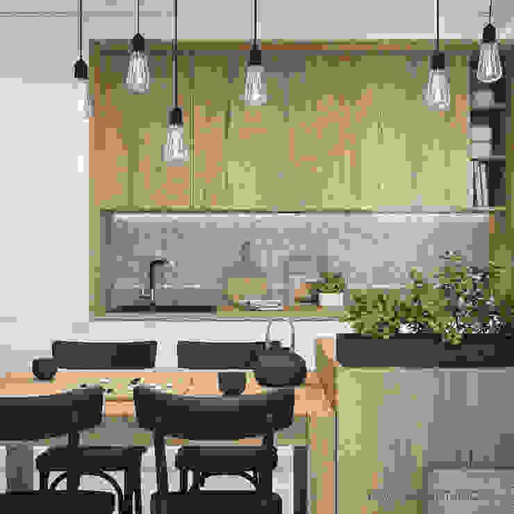 MIRAI STUDIO Modern style kitchen