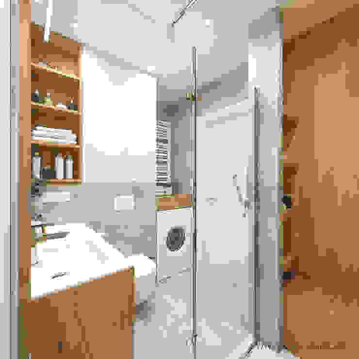 MIRAI STUDIO Bagno moderno Cemento Grigio