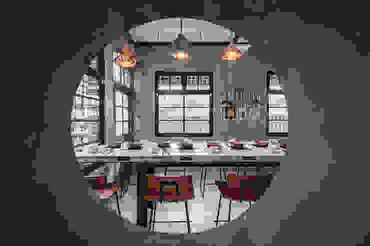 老屋猶新 - 毛房鍋物 The rebirth of an old house - Mao Fun 木介空間設計 MUJIE Design 餐廳