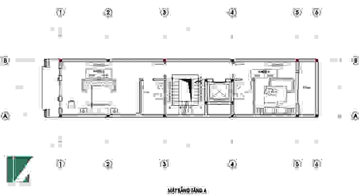 NHÀ PHỐ 6 TẦNG + 01 TUM bởi Kiến trúc Việt Xanh