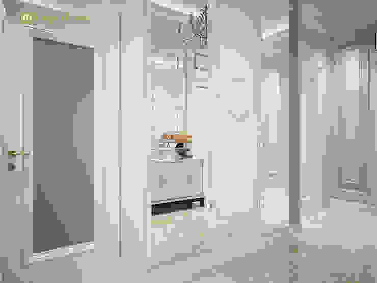 ЕвроДом Pasillos, vestíbulos y escaleras de estilo clásico