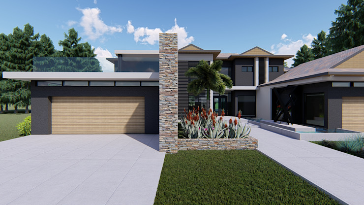 HOUSE AARON by BlackStructure Minimalist