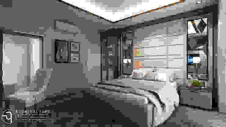 โครงการออกแบบบ้านพักอาศัย 2 ชั้น: ทันสมัย  โดย คุณเฉลียง - ออกแบบตกแต่งภายใน, โมเดิร์น