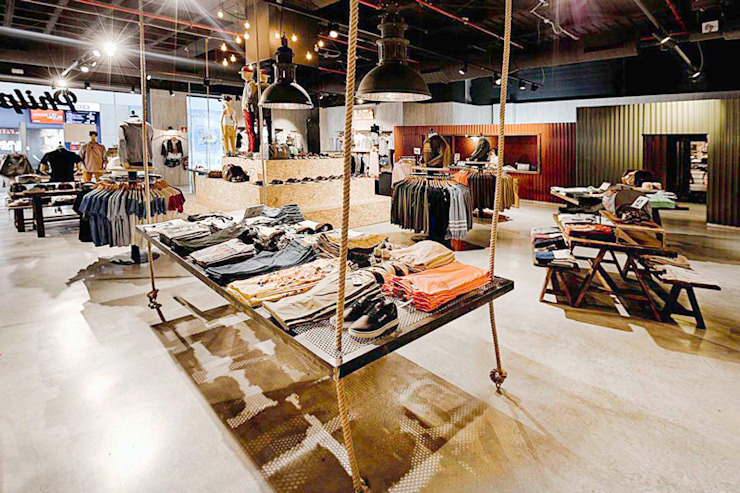 Locaux commerciaux & Magasin industriels par Piedra Papel Tijera Interiorismo Industriel